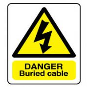 Warn121 - Danger Buried Cable